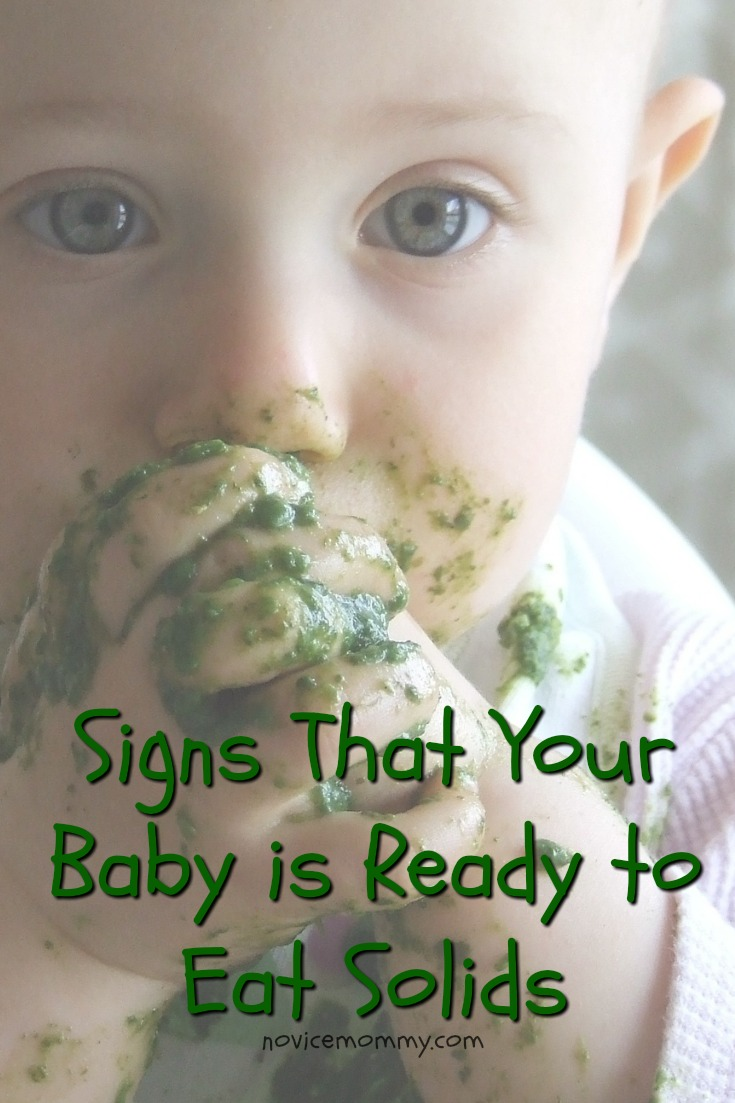 Signs That Your Baby is Ready to Eat Solids
