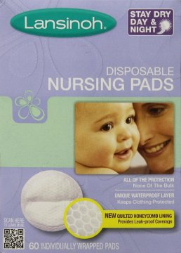Breastfeeding Essentials - Diary of a New Mommy. Lansinoh Disposable Nursing Pads.