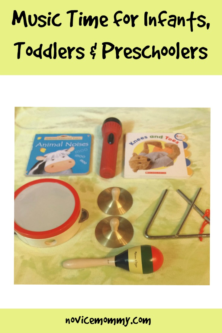 Music Time for Infants, Toddlers & Preschoolers