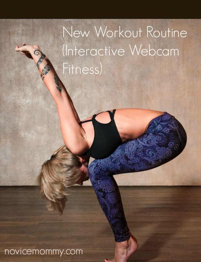 New Workout Routine. Interactive Webcame Yoga & Fitness Studio.