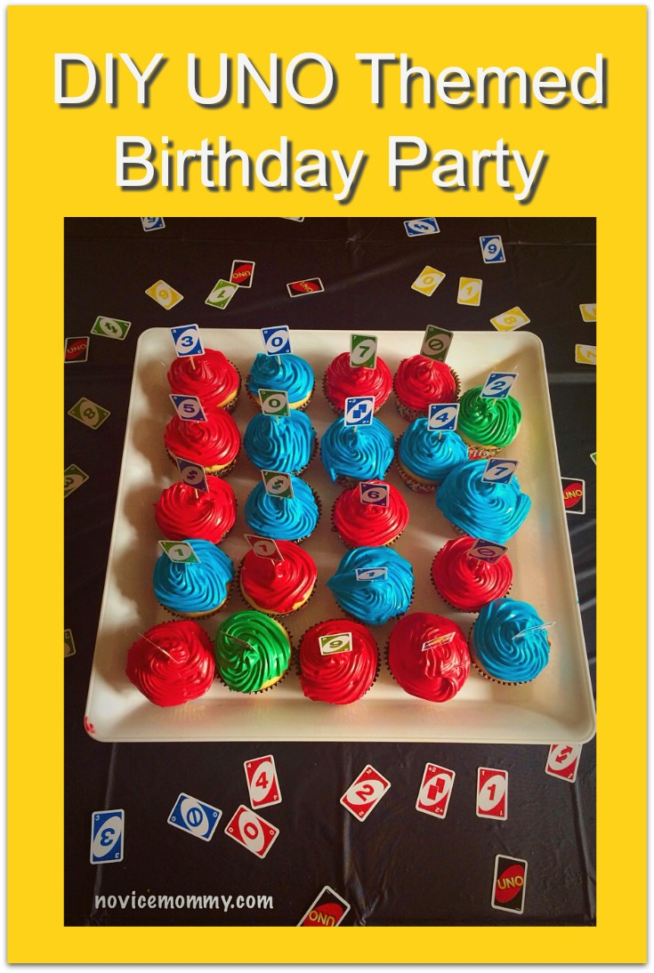 DIY UNO Themed Birthday Party. Baby's First Birthday. Smash Cake. High Chair Banner.