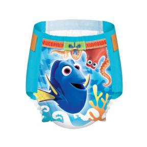 What's in Our Pool Bag. Huggies Litle Swimmers. Finding Dory. Toddler. Swim Diaper.