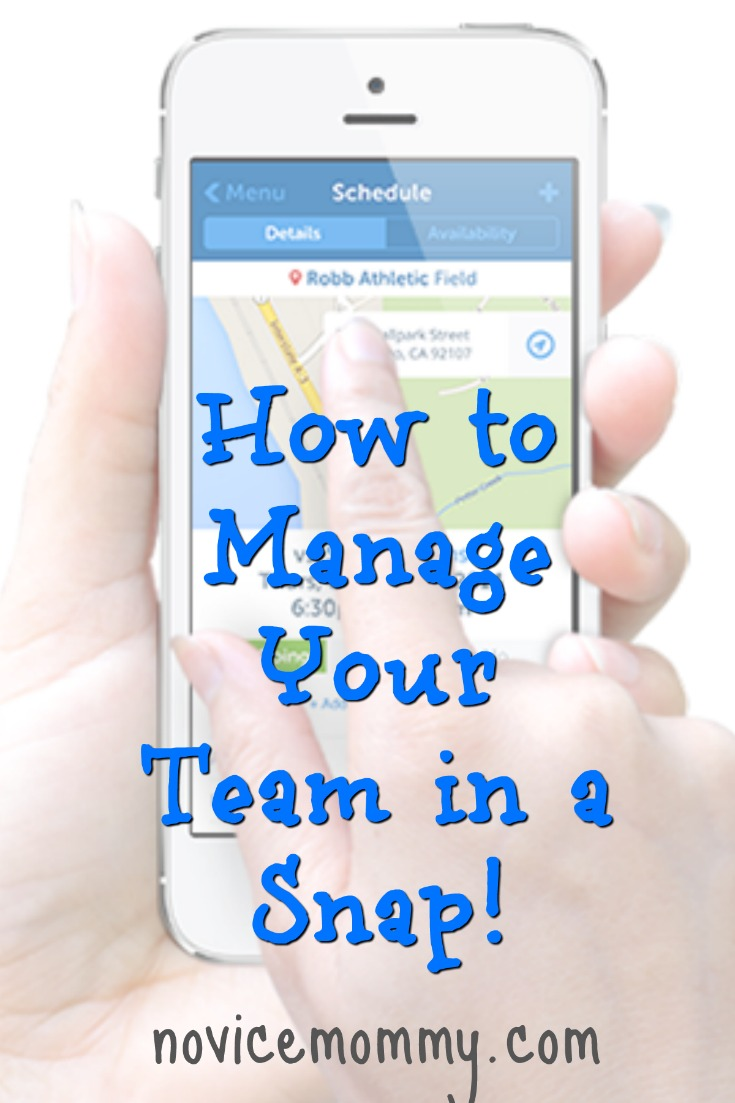 How to Manage Your Team in a Snap! Are you a parent of kids in sports A coach Click here to check out this app and website that will help you manage your team in a snap! Team Snap.