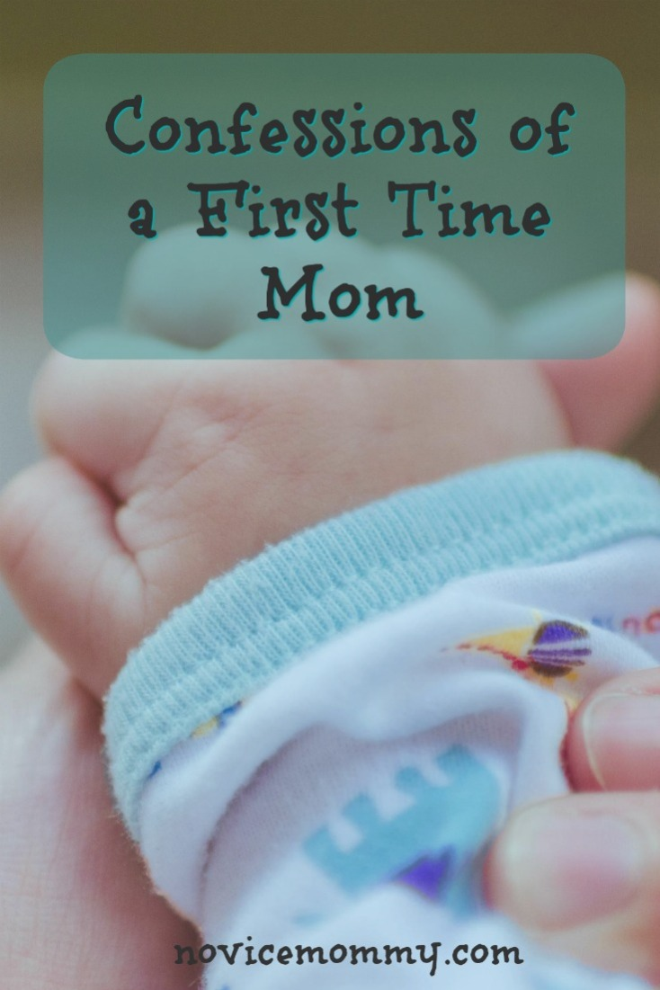 Confessions of a First Time Mom - Click to find out the only pregnancy book I read and my strange first pregnancy symptom. What's your confession?